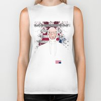 frank underwood Biker Tanks featuring frank underwood by skymerol