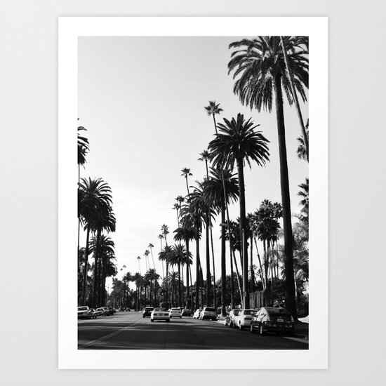 Los Angeles Black and White by tamsinlucie