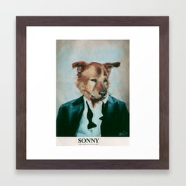 Sonny Framed Art Print