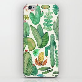 nature pattern collab. iPhone Skin