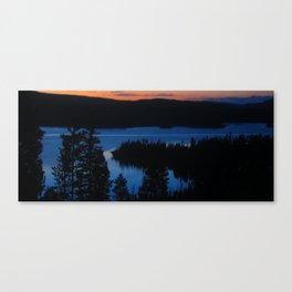 Sunclay Canvas Print