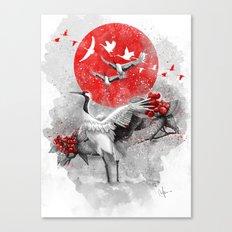 Tsuru Canvas Print