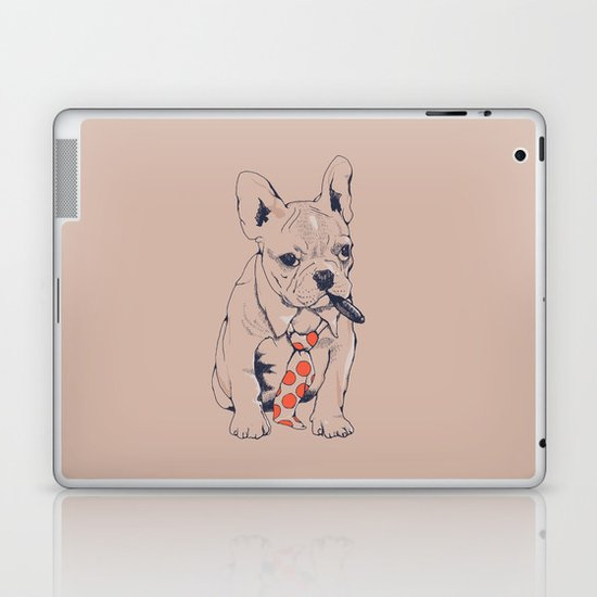 FRENCH BULLDOG BOSS Laptop & iPad Skin