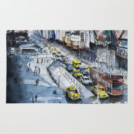 Time square - New York City Rug