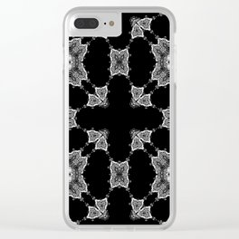 Sect 1 Quad Clear iPhone Case