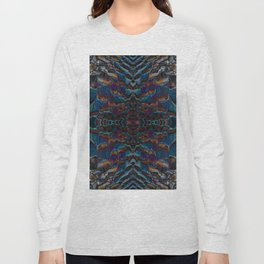 Feather fusion geometry VI Long Sleeve T-shirt