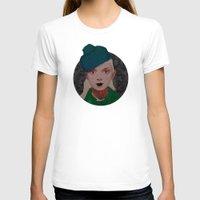 noir T-shirts featuring Noir by Eveline