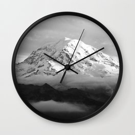 Marvelous Mount Rainier Wall Clock