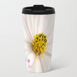 Sensation Cosmos White and Pink Travel Mug