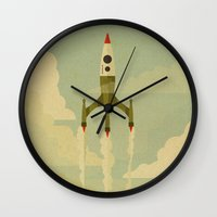 journey Wall Clocks featuring The Journey  by Danny Haas