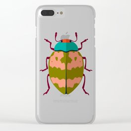 Beetle 01 Clear iPhone Case