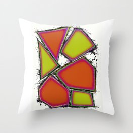 Cake display Throw Pillow