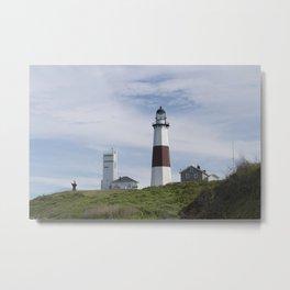 Montauk Point Light Metal Print