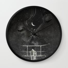 The dreamy conversation. Wall Clock