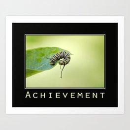 Inspiring Achievement Art Print
