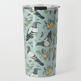 Pigeons, Apricots, and Thyme Travel Mug