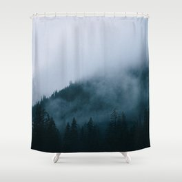 lacerated spirit Shower Curtain