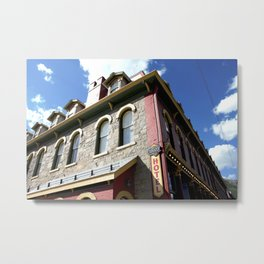 "On Greene Street - The ""Main Drag"" of Silverton, No. 2 of 3 Metal Print"
