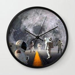 The Lost Astronauts Wall Clock
