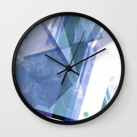 sport Wall Clocks featuring Sport. by Amelia Temple