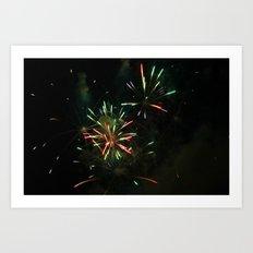 ~Firework Madness~ Art Print