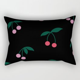 Cherry Print Rectangular Pillow