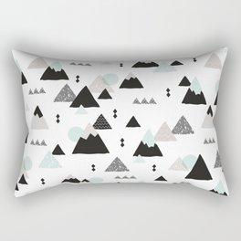 Geometric Fuji mountain japan travel pattern Rectangular Pillow
