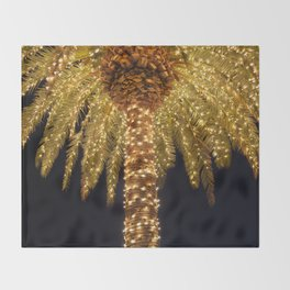 Palmetto Lights Throw Blanket