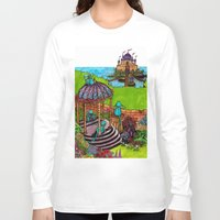 monkey island Long Sleeve T-shirts featuring Monkey Island by Charlie L'amour