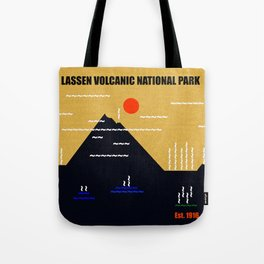 Lassen Volcanic National Park Tote Bag