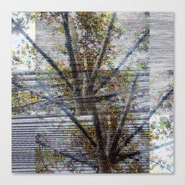 Thursday 17 October 2013: Suspension of disbelief or an untied sense bridge. Canvas Print