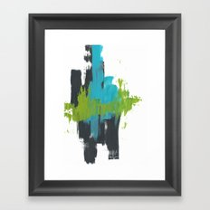 Abstract Ocean Framed Art Print