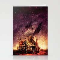 Stationery Cards featuring Carry On My Wayward Son by Alice X. Zhang