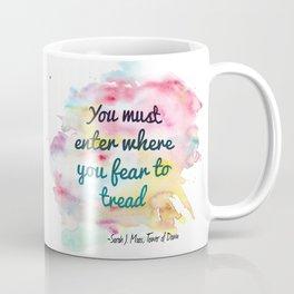 Enter where you fear to tread | Tower of Dawn Coffee Mug