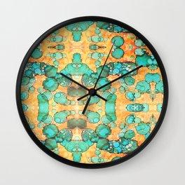 Kaleidoscope Ink #1 Wall Clock