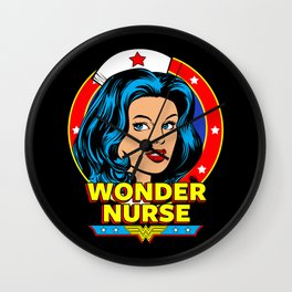 Wonder Nurse Wall Clock