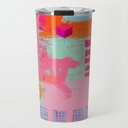 almost there - abstract painting Travel Mug