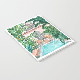 Moroccan Dream - Brunette Hair (Other Hair & Skin Tones Available) Notebook