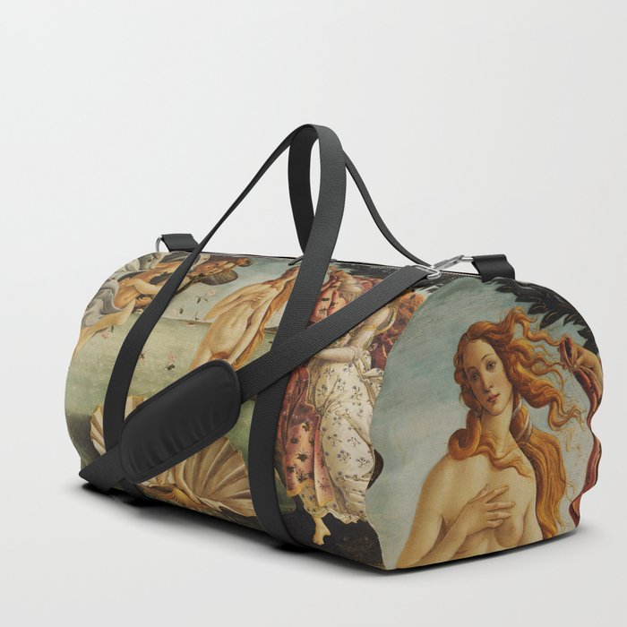 The Birth of Venus by Sandro Botticelli Duffle Bag