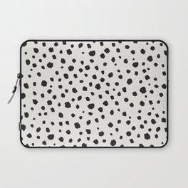 Spots Animal Print Laptop Sleeve