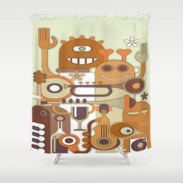 Howdy Shower Curtain