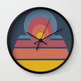 Circles & Dots 05 Wall Clock