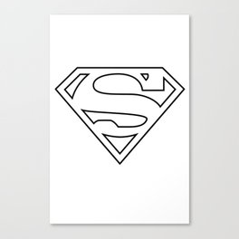 SUPER MAN Canvas Print