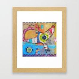 Soaring Above Framed Art Print
