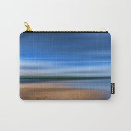 Beach Blur Painted Effect Carry-All Pouch