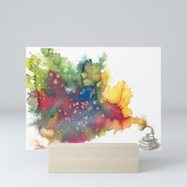 Language of Music Mini Art Print