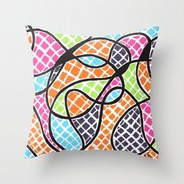 Gabriela's Tiles Throw Pillow