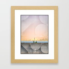 Greenpoint Sunset Framed Art Print