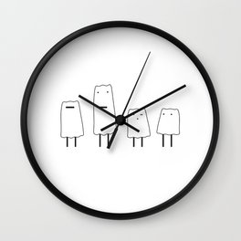 Snow guys Wall Clock