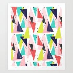 Paper Play Art Print
